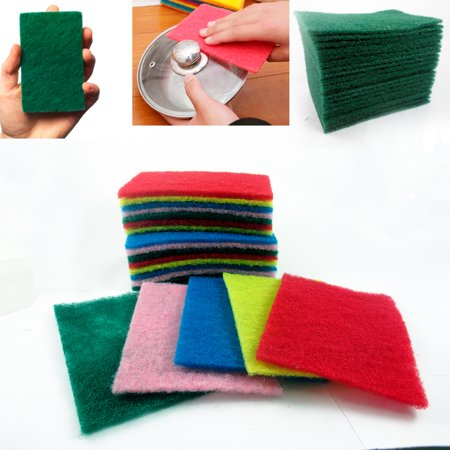 30 Ct Scouring Pads Medium Duty Home Kitchen Scour Scrub Cleanning Pad (Cooktop Scrub Pads)