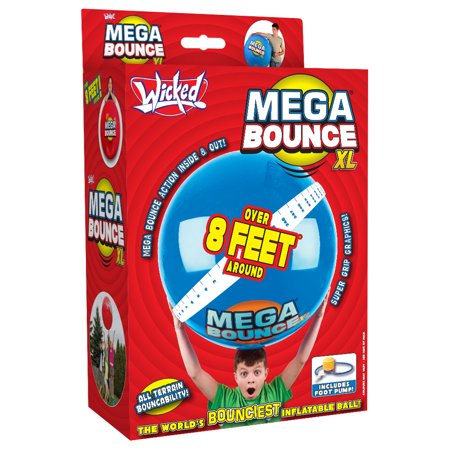 Wicked Vision Mega Bounce XL Ball ()