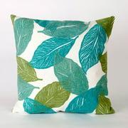 Liora Manne Mystic Leaf Indoor / Outdoor Throw Pillow