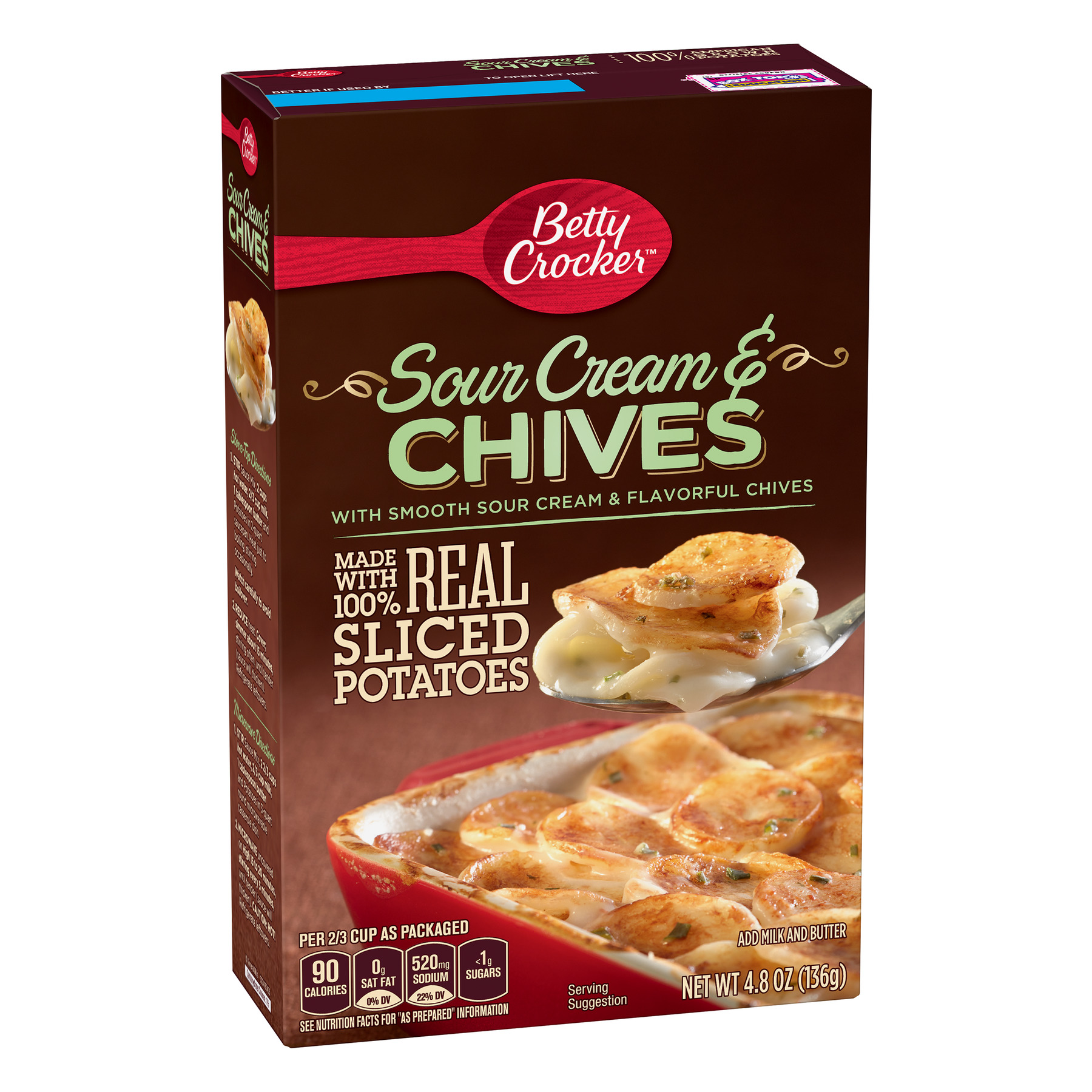 Betty Crocker Sour Cream and Chives Potatoes, 4.8 oz