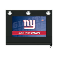NFL New York Giants Zippered Pencil Pouch with Grommets