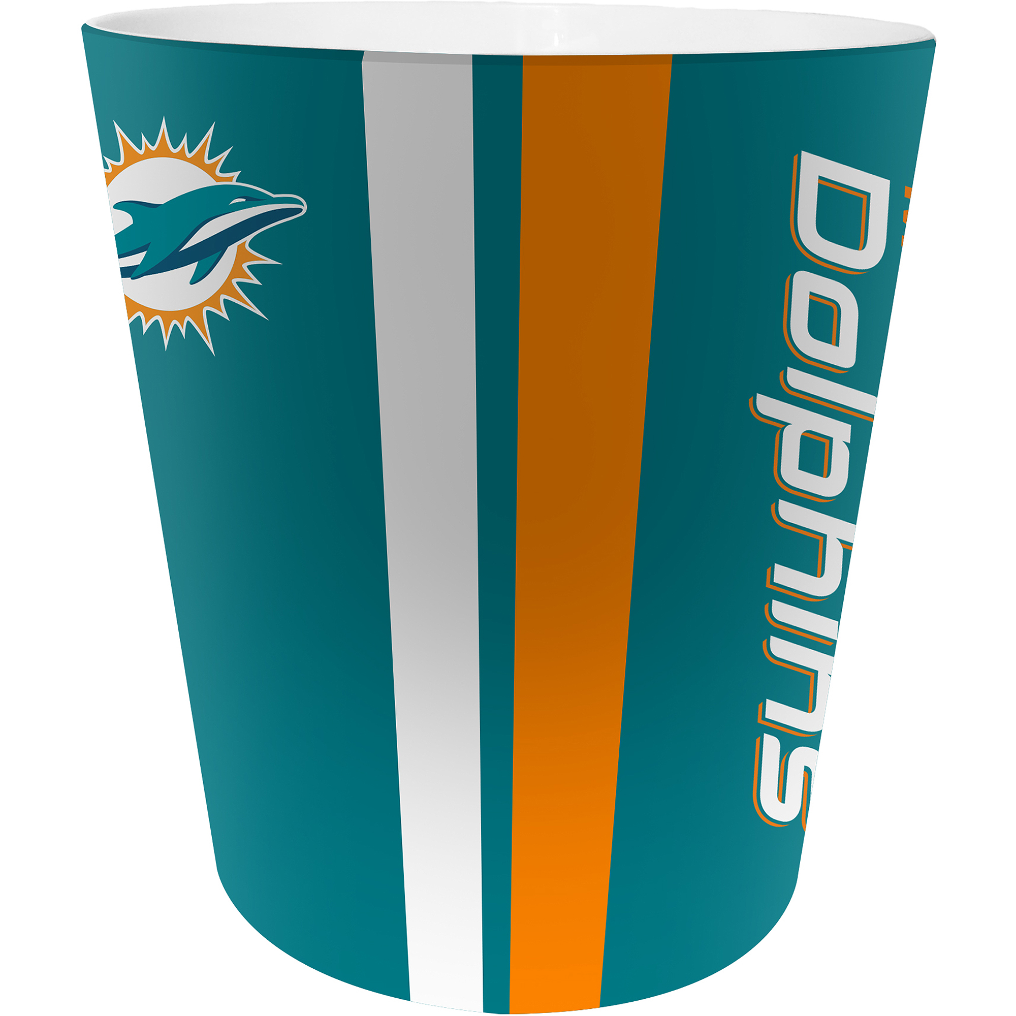 NFL Miami Dolphins Decorative Bath Collection - Wastecan