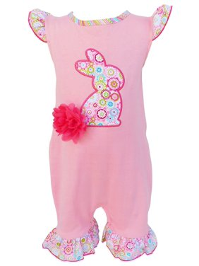 1077145e7 Baby Girls Rompers & One-pieces - Walmart.com