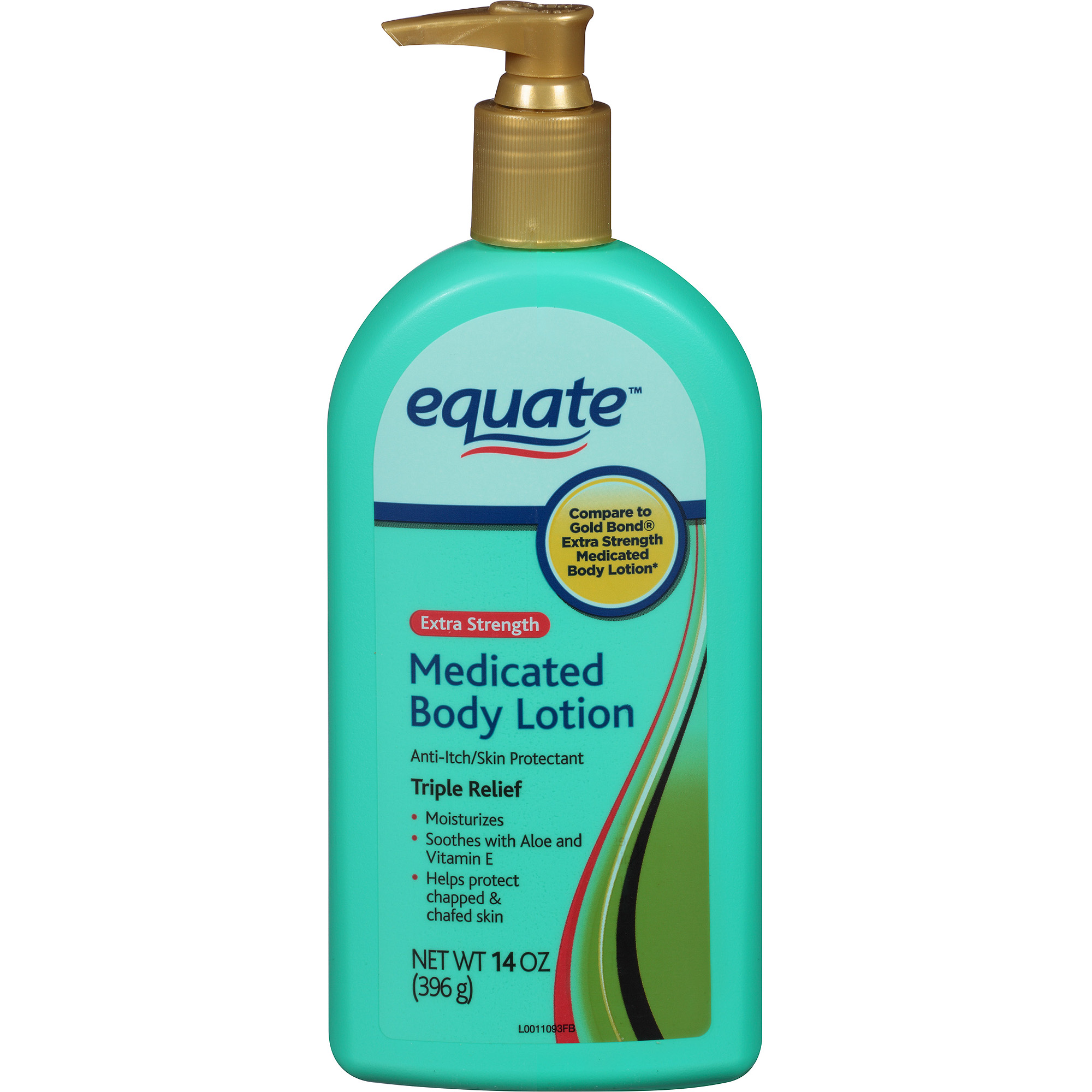 Equate Severe Dry & Itch Medicated Lotion, 14 oz