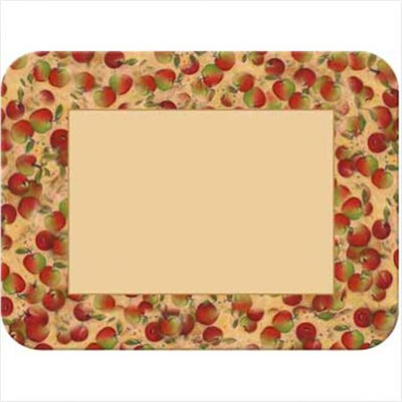 Mcgowan Tt00541 Tuftop Apples Border Cutting Board  Small