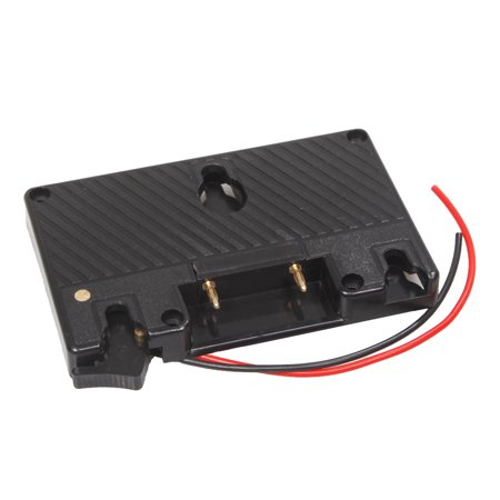 Gold Mount Battery Camera Adapter Plate for Panasonic Camcorder Power B-Tap Anton Bauer Battery