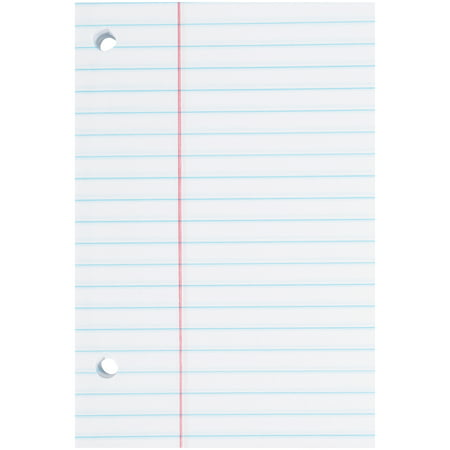 Norcom 5-Pack Filler Paper, 150 Sheets, College Ruled, 10 5