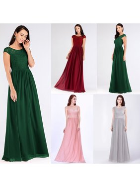 539f84cd1a9 Product Image Ever-Pretty Women s Elegant Lace Cap Sleeve Long Maxi Formal  Evening Party Bridesmaid Dresses for