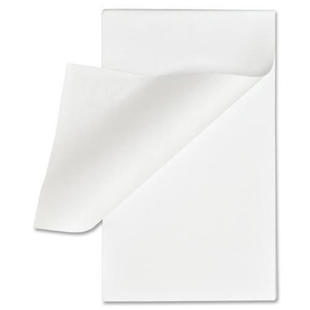 "Business Source Plain Memo Pads - 100 Sheets - Plain - Glue - 16 lb Basis Weight - 3"" x 5"" - White Paper - 1Dozen"