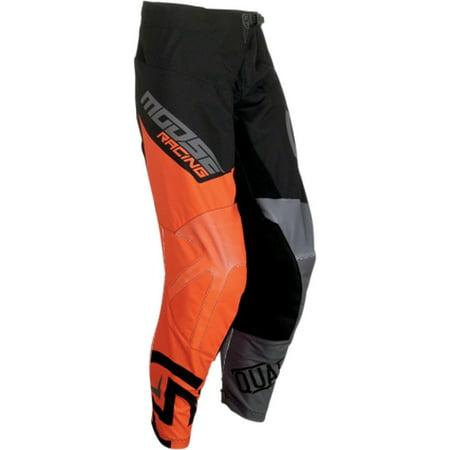 Moose Racing Qualifier Mens MX Offroad Pants Black/Orange