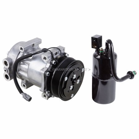AC Compressor w/ A/C Drier For Jeep Cherokee 1997 1998 1999 2000