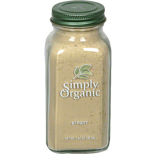 Simply Organic Ginger, 1.64 oz (Pack of 6)