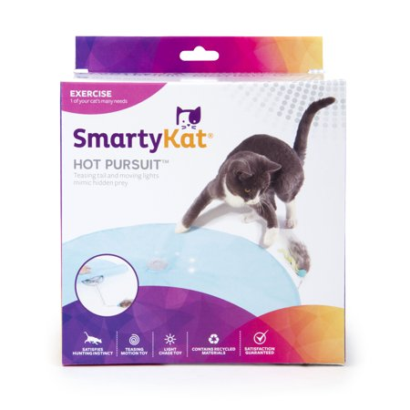 Cigar Cat Toy - SmartyKat Hot Pursuit Electronic Concealed Motion Cat Toy
