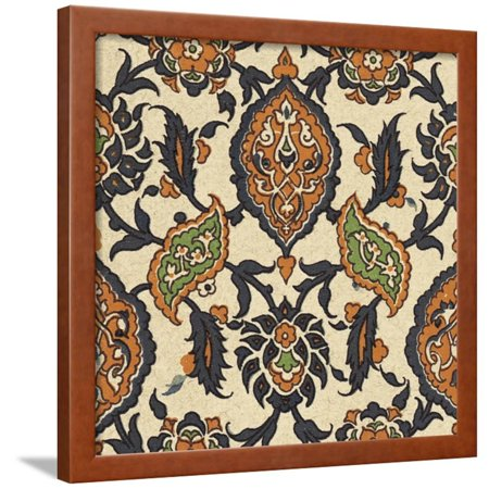 Persian Tile VI Framed Print Wall Art Art Com Persian Print