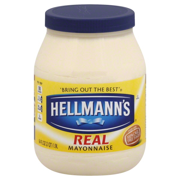 Hellmann's Real Mayonnaise, 64 oz