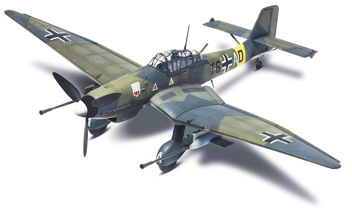 Stuka Ju 87G-1 Tank Buster Plastic Model Kit, Add this WW II dive bomber to your... by