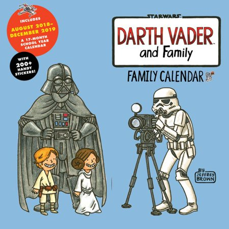 Darth Vader and Family 2019 Calendar