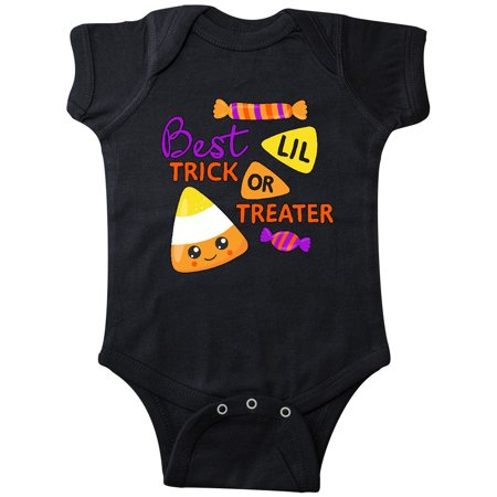 Best Little Trick or Treater-cute candy corn for Halloween Infant
