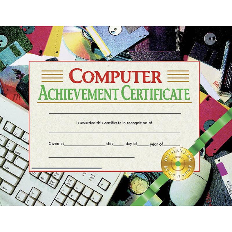 computer certificates achievement certificate walmart hayes award wayfair