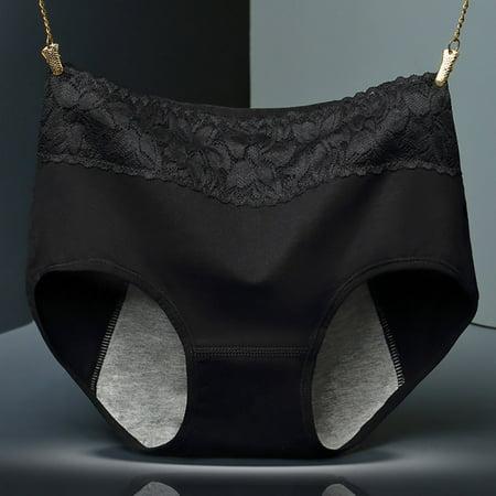 Women Menstrual Period Leakproof Cotton Panties Seamless Briefs Underwear