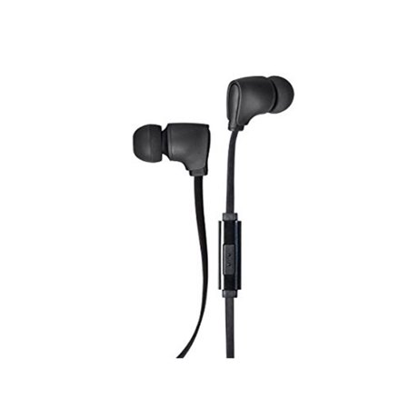 Monoprice Premium 35mm Wired Earbuds Headphones w/ in line Microphone,
