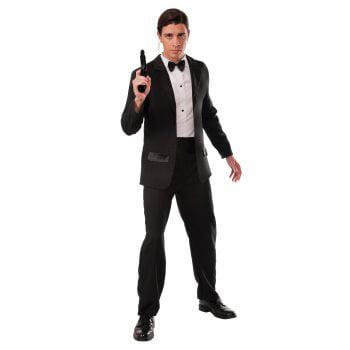 CO-SPY-TUXEDO-STD (Black Tuxedo Costume)