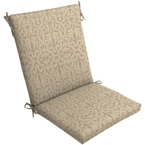 Mainstays Outdoor Dining Chair Cushion Walmart