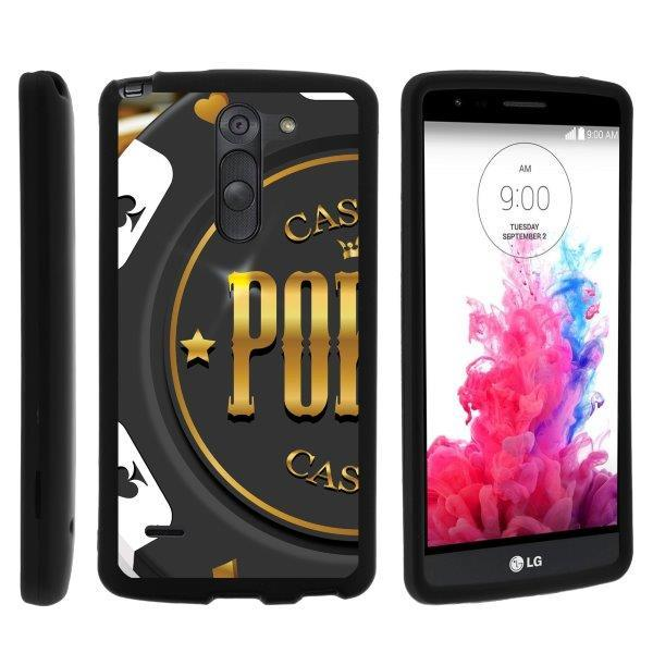 TurtleArmor ? | For LG G3 Stylus D690 [Slim Duo] Two Piece Hard Cover Slim Snap On Case - Slot Machine