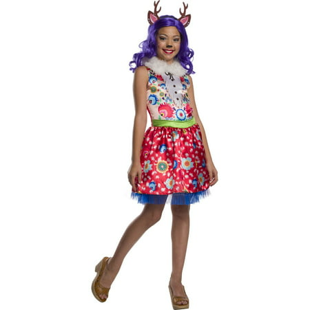 Enchantimals Danessa Deer Girls Halloween Costume](Whitetail Deer Costume)