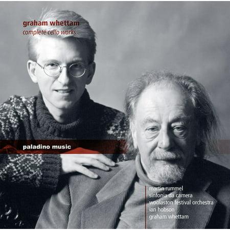 Graham Whettam  Complete Cello Works