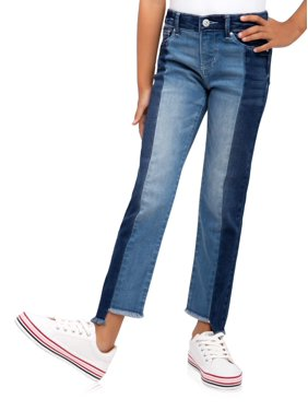 Jordache Distressed Two-toned Jean (Little Girls, Big Girls & Plus)