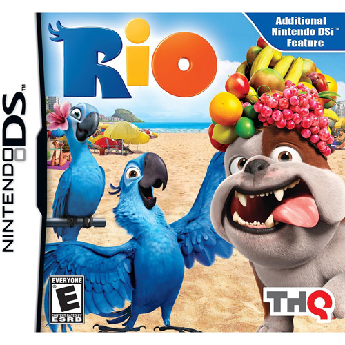 1st Playable Productions Thq, Inc Nintendo Ds  -  Rio