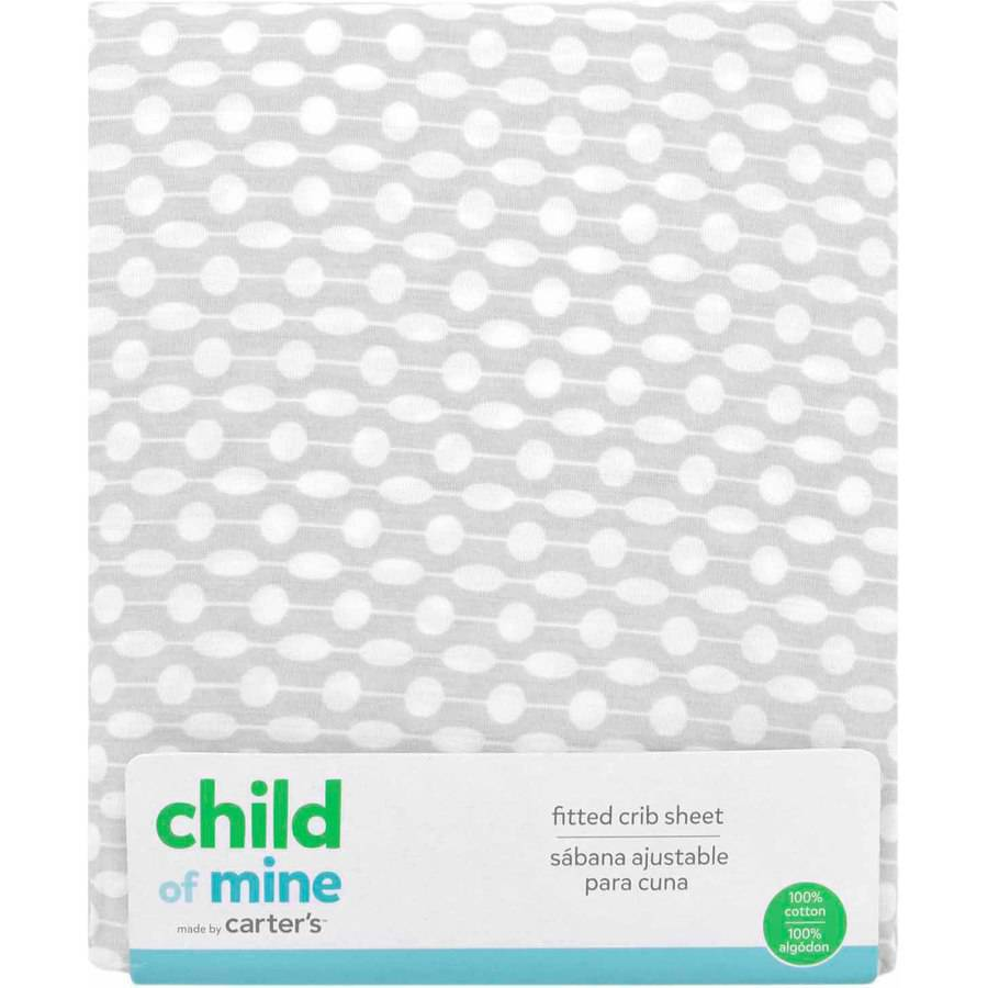 Child of Mine by Carter's Giraffe Family Fitted Crib Sheet