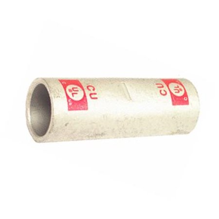 Copper Short Barrel Compression Splices 600 MCM (600 Mcm Copper Wire Weight Per Foot)