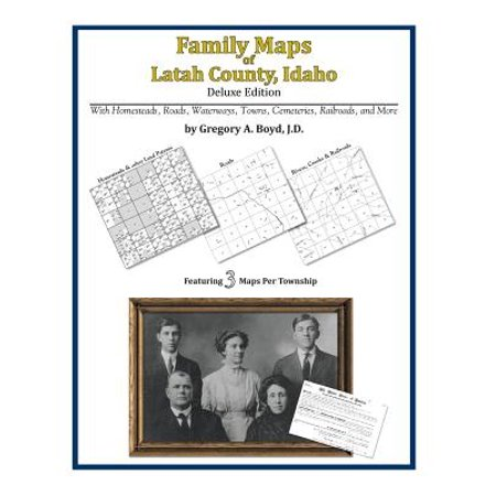 Family Maps of Latah County, Idaho