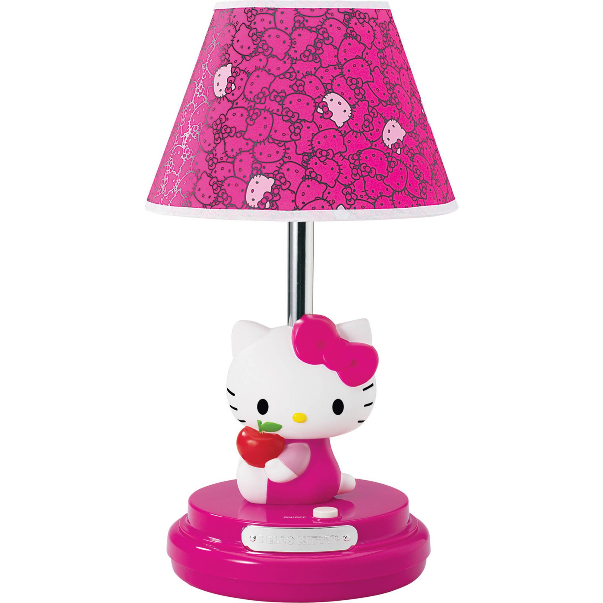 Hello Kitty Table Lamp, Magenta