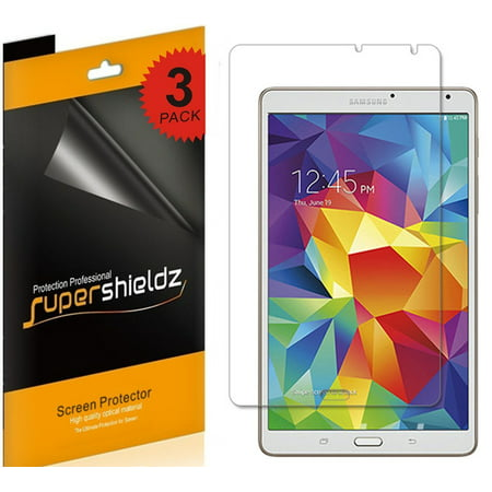 [3-Pack] Supershieldz Samsung Galaxy Tab S 8.4 Screen Protector, Anti-Glare & Anti-Fingerprint (Matte) Shield](galaxy tab s 8.4 deals)
