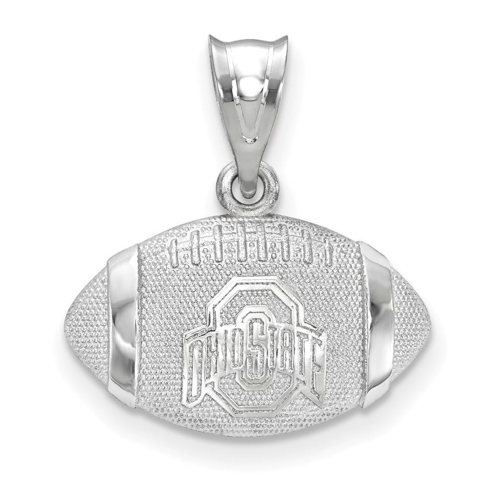 Collegiate Arizona State University Sterling Silver LogoArt Arizona State University Small Dangle Earrings
