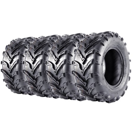 Atv 4 X 4 - 25x8x12 & 25x10x12 ATV/UTV Tires Complete Set of 4 6PR Mud AT Tire