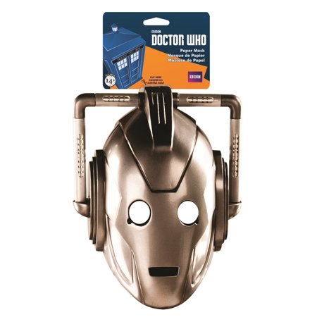 Doctor Who Cyberman Paper - Plague Doctor Mask For Sale