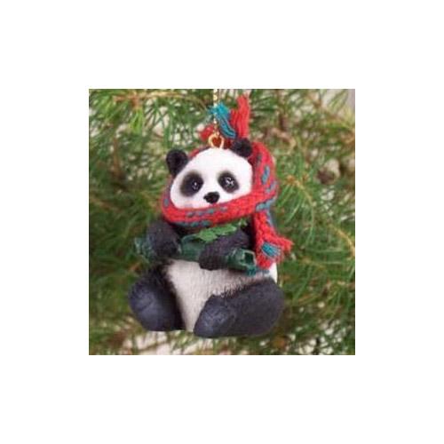 Panda Bear Christmas Ornament P150 - Walmart.com