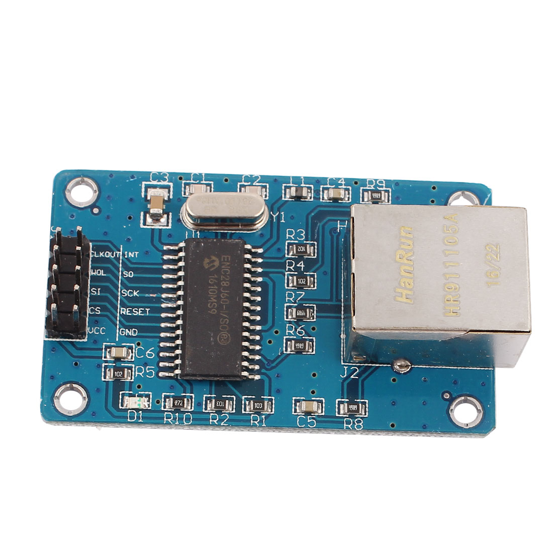 ENC28J60 SPI Interface Ethernet LAN Network Module AVR ARM PIC - image 2 de 3