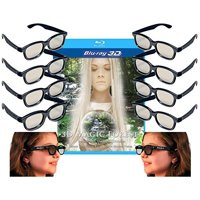 Family Adult and Kids 3D Glasses Pack for LG, SONY, Vizio and all other Passive 3D TVs also for use in Real-D Theaters - 10 Pairs of Circular.., By 3DHeaven