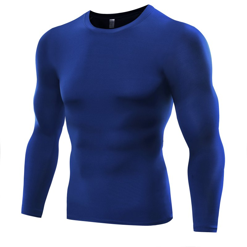 Men Compression Quick Dry T-shirt Tights Sports Gym Thermal Base Layer