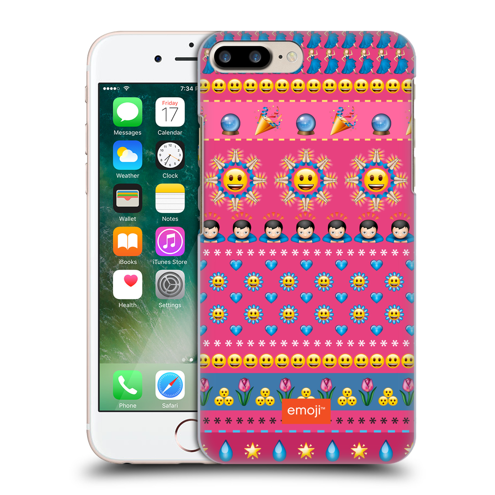 OFFICIAL EMOJI ASSORTED PRINTS HARD BACK CASE FOR APPLE IPHONE PHONES