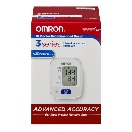 Omron 3 Series Blood Pressure Monitor  1 0 Ct