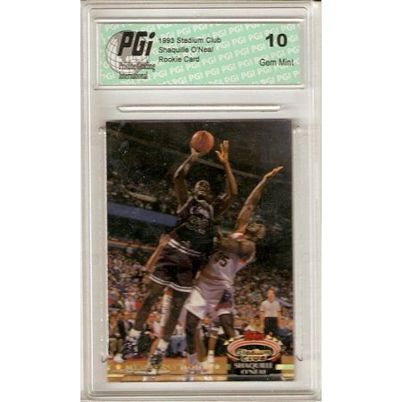 Collectors Club Member (Shaquille O'Neal 1993 Stadium Club #201 Members Only Rookie Card Shaq PGI)