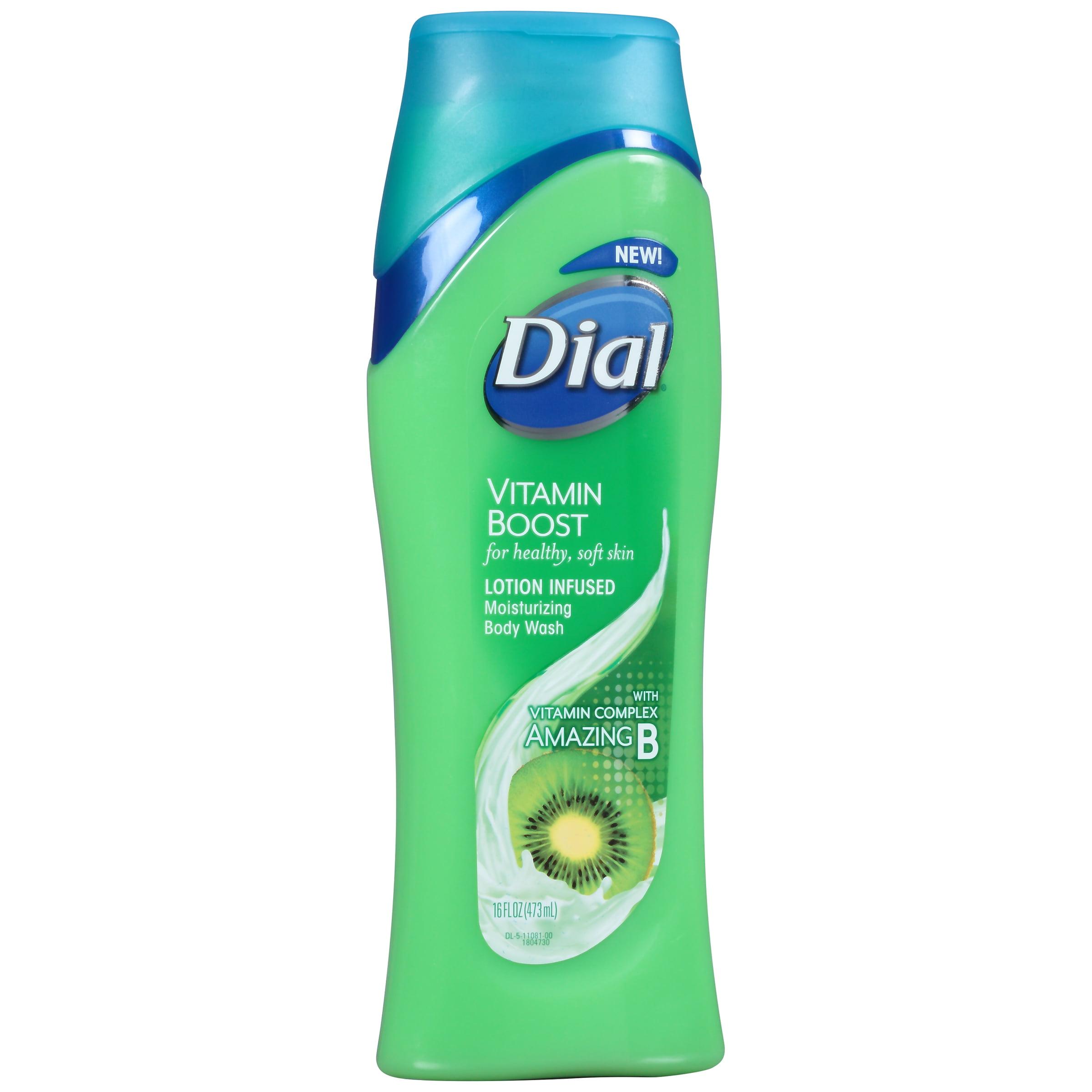 Dial® Vitamin Boost Lotion Infused Moisturizing Body Wash 16 fl. oz. Bottle