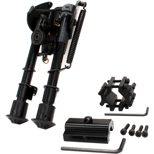 NcStar Bipod Precision Grade Compact with 3 Adapters