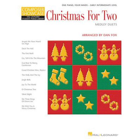 Christmas for Two - Medley Duets : Composer Showcase Series 1 Piano, 4 Hands](Halloween Piano Medley)